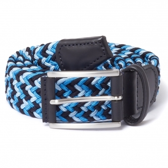 Anderson's Woven Blue Belt
