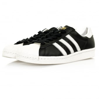Adidas Originals Superstar 80s Black Shoe BB2232