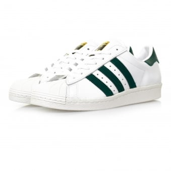 Adidas Originals Superstar 80s White Leather Shoe BB2230
