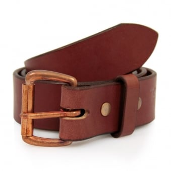 Tanner Goods Standard Mahogany Leather Belt TGMB