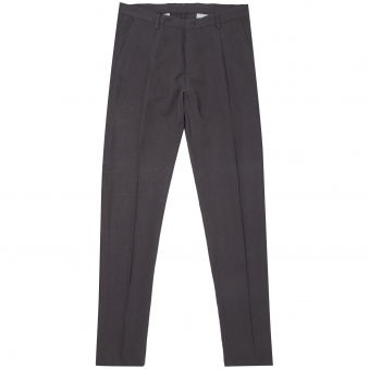 Grey Tapered Trousers