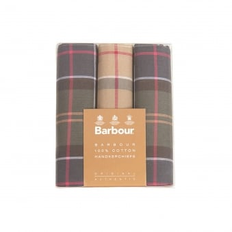 Barbour Tartan Handkerchiefs MAC0010TA11
