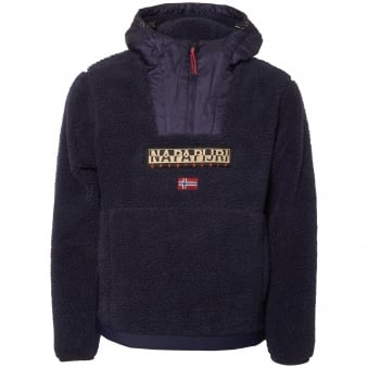 Dark Blue Teide Fleece