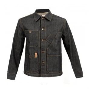 Tellasson Coverall Dark Wash Denim Jacket 1954.02