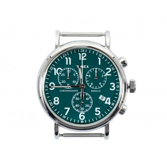 Timex Weekender Chrono Stainless Steel Green Watch TW2P97400WS