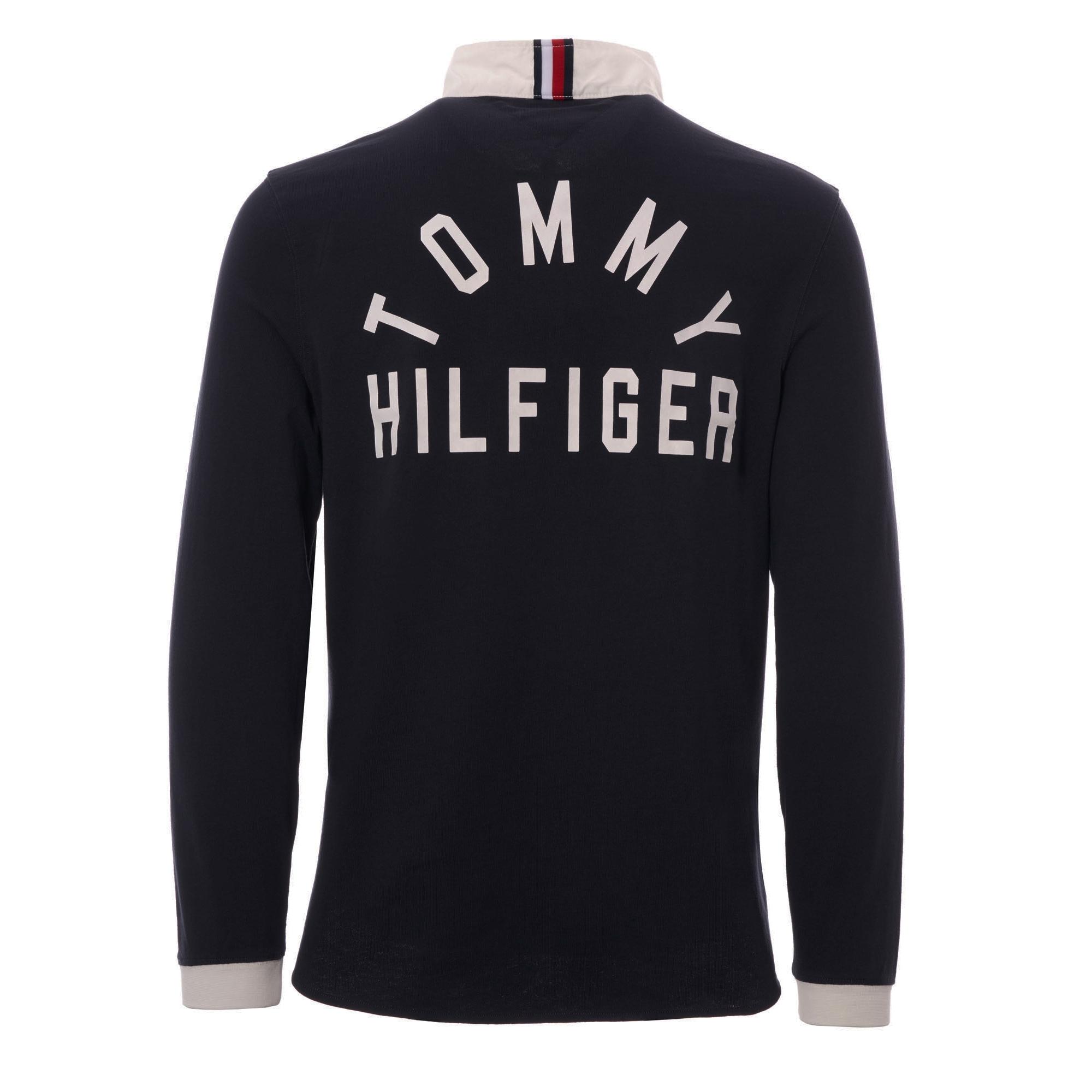 4bd319a7 Tommy Hilfiger (Sky Captain) Logo Rugby Shirt MW07973-403