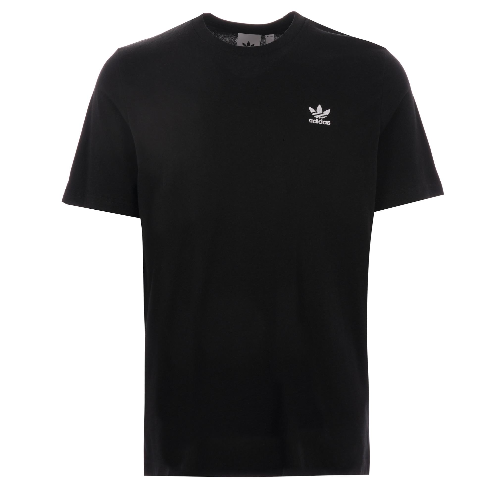 adidas originals trefoil v-neck t-shirt