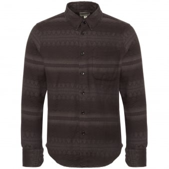 Dark Grey Tribal Shirt