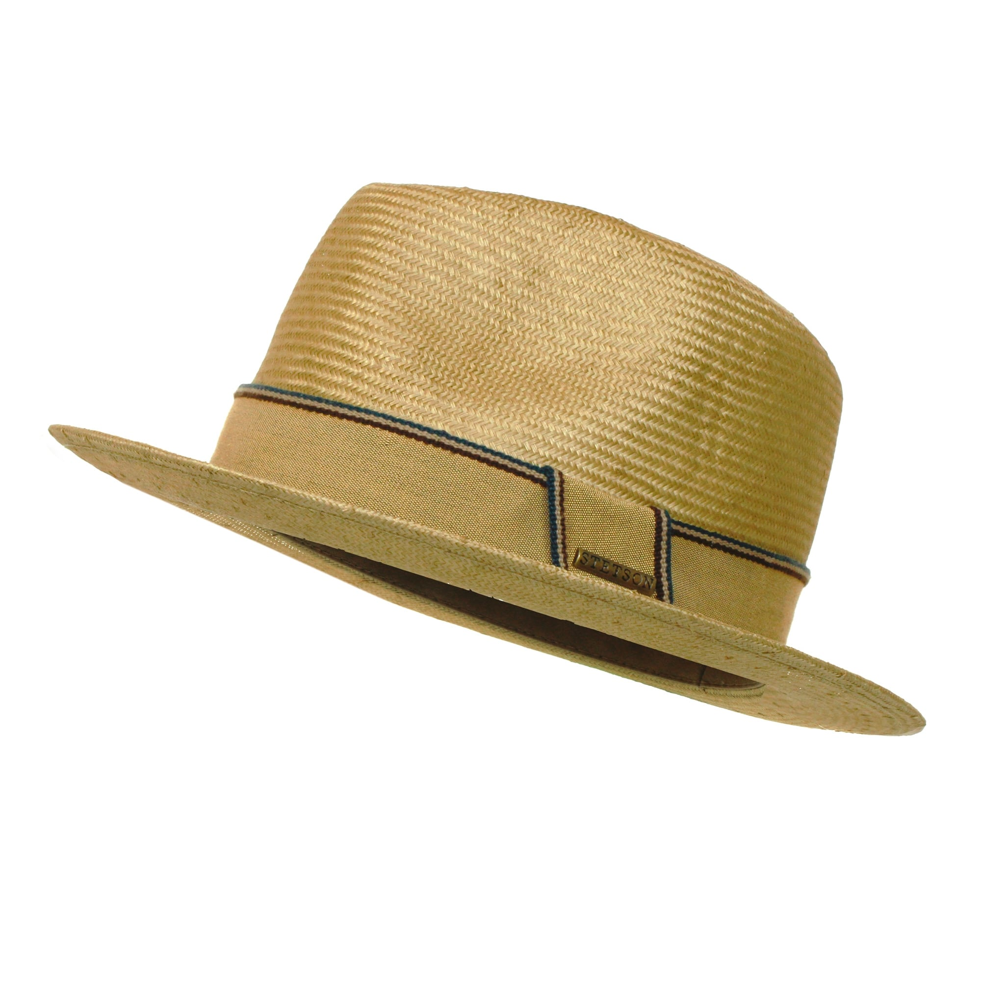 Natural Straw Trilby Hat 6678d19ad8a