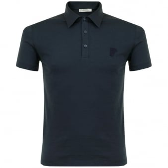 Versace Dark Blue Polo Shirt V800708