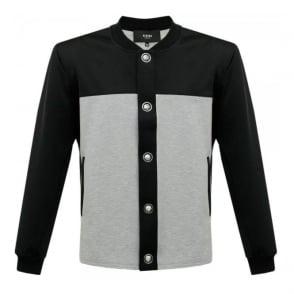 Versus Versace Lions head Black Grey Jacket BU50172
