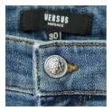 Versus Versace Slim fit Light Blue Denim Jeans BU40213