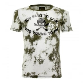 Vivienne Westwood Too Fast To Live Military Green T-Shirt 59288501