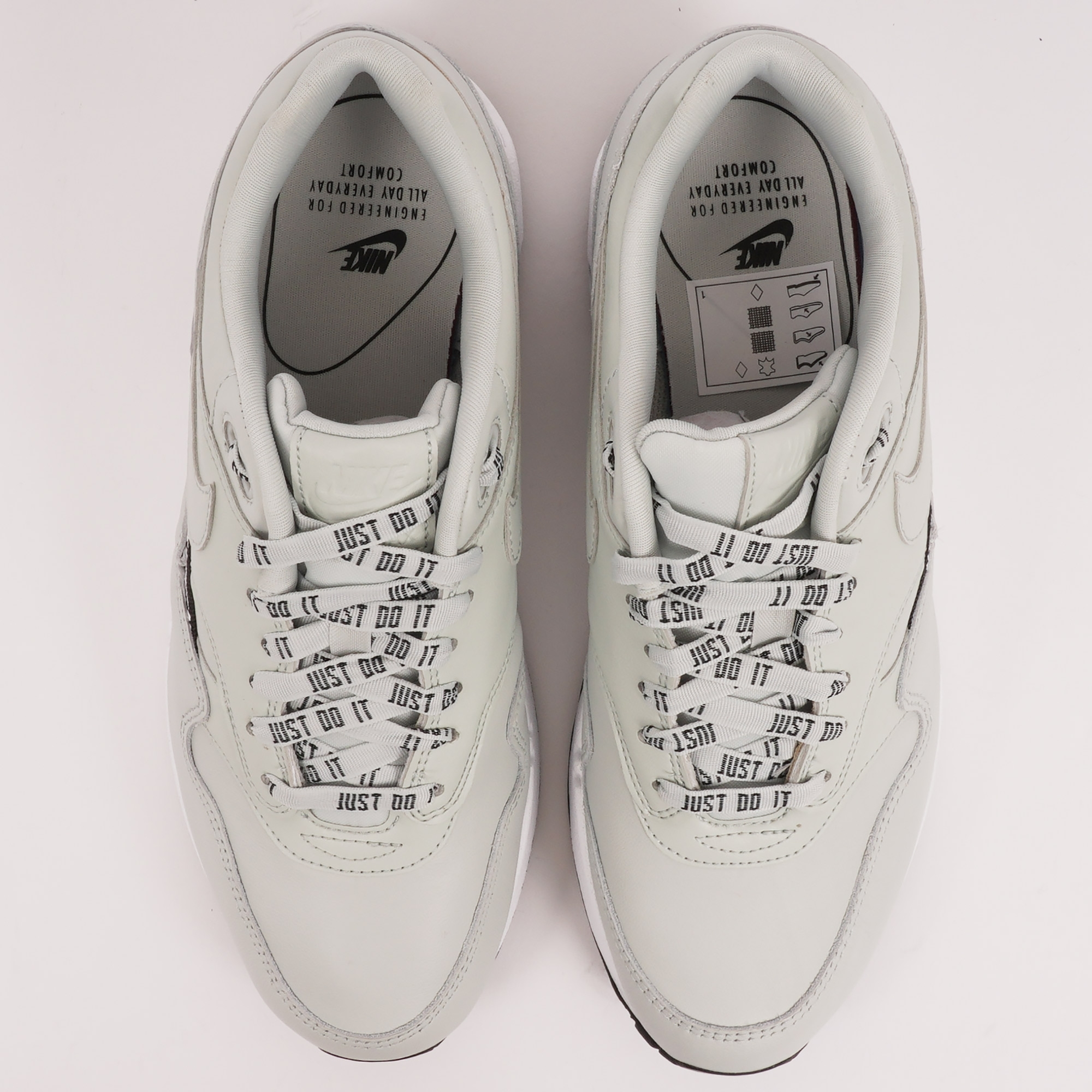 54ad2fd4b77 Nike (Silver) W Air Max 1 SE Overbranded 881101-004