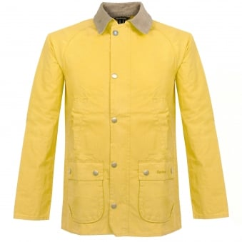 Barbour Washed Bedale Yellow Jacket MCA0369YE51
