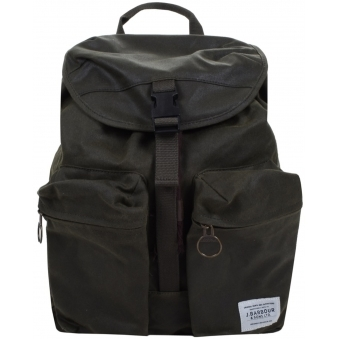 Olive Waxed Whitby Backpack