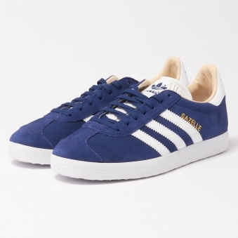 Womens Gazelle Trainers - Noble Indigo