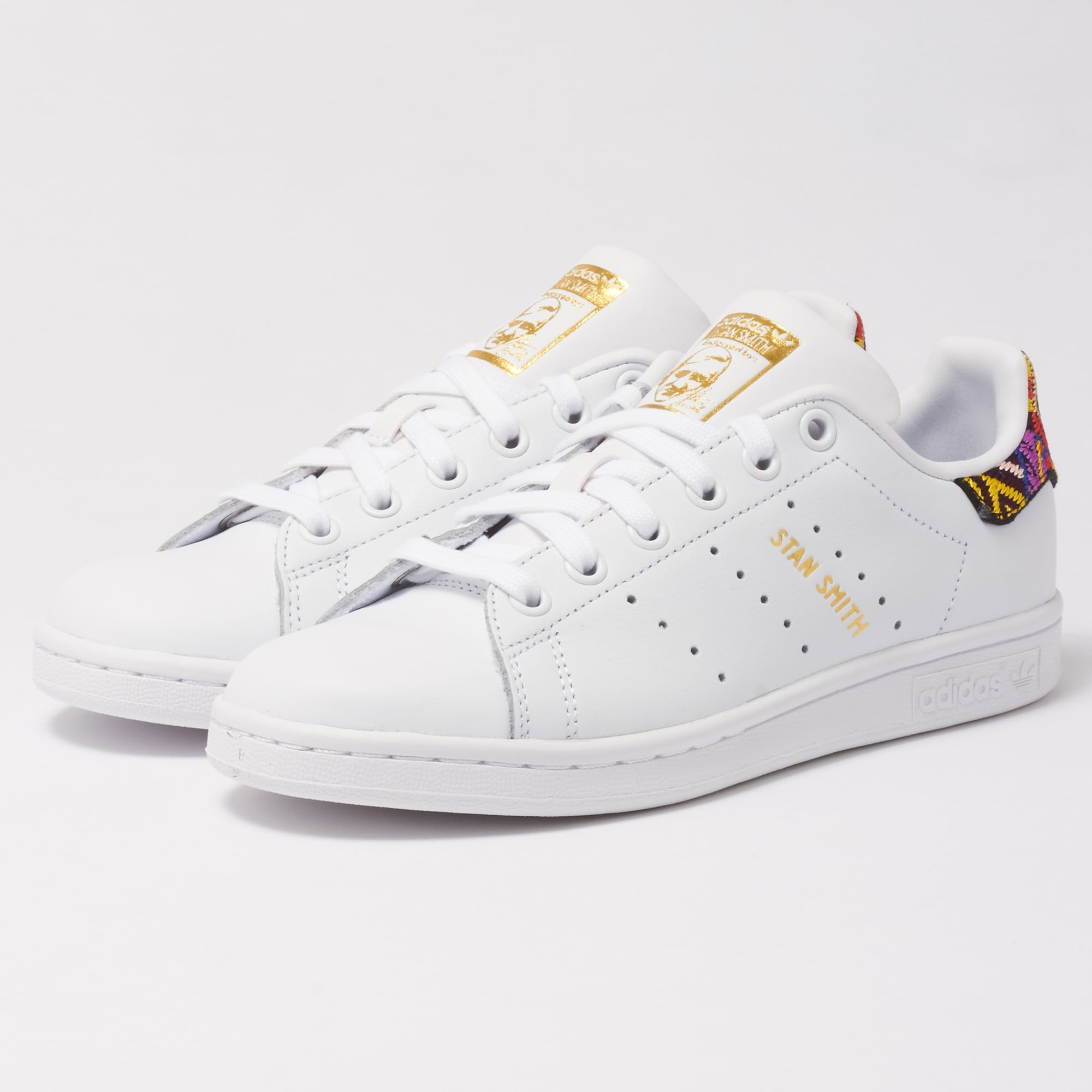 7b585df4335e3 Adidas x The FARM Company Stan Smith Sneakers (White) at Dandy Fellow