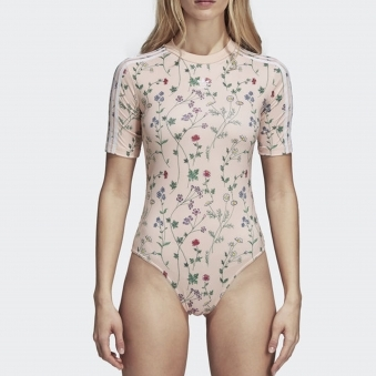 Womens Blush Pink Bodysuit