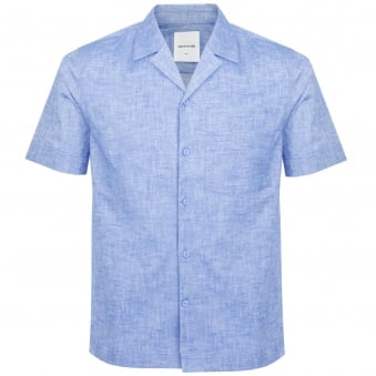 Wood Wood Brandon Light Blue Shirt 11715312
