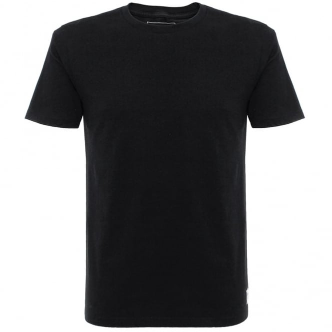 Wood Wood Solid Black T-Shirt 10005707