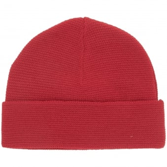 AMI Red Wool Beanie BSRK30-01