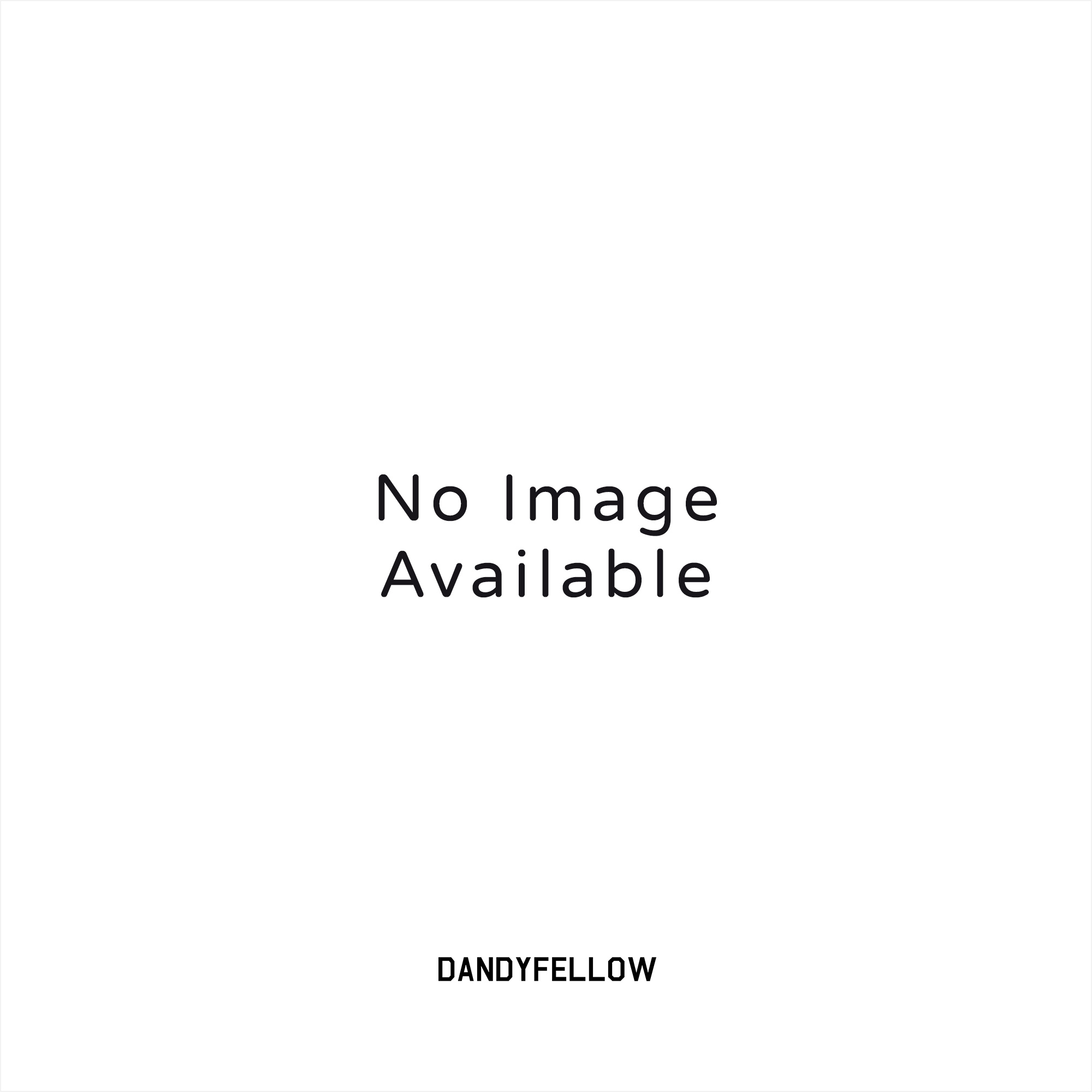 Navy Woven Leather Belt